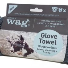 Henry Wag Microfibre Muddy Dog Cleaning Glove Towel